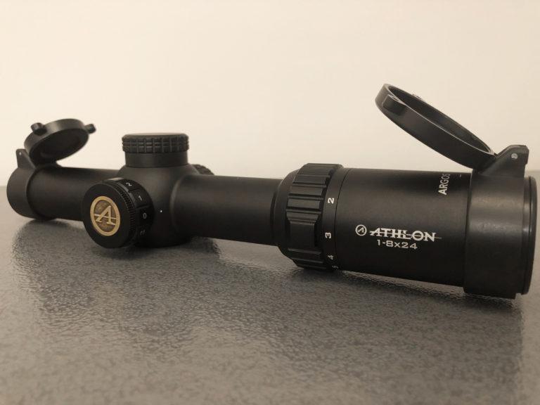 Athlon Argos BTR Gen2 1-8x24 scope